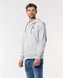 Surf Co. Hooded Zip Through Fleece