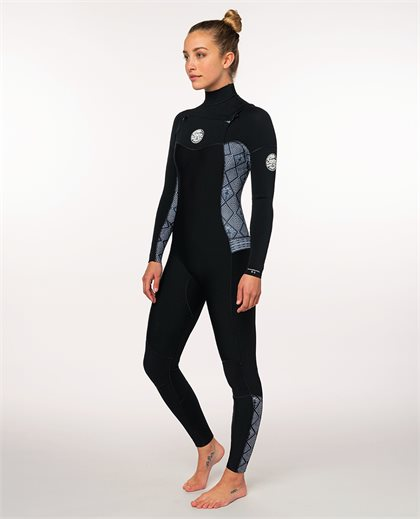 Women Dawn Patrol 4/3 Chest Zip  Wetsuit