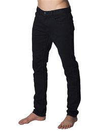 Slim Salt Black - Jeans