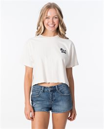 Keep On Surfin Crop Tee