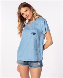 Minimalist Wave – T-Shirt