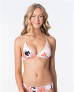 Lake Shore Crossback Triangle Bikini Top