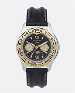 Reloj Moonphase Heat Bezel Leather