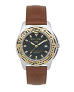 Montre large Heat Bezel Leather