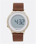Montre Daybreak Digital Rose Leather