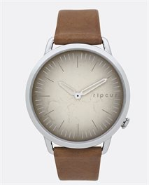 Super Slim Vintage Leather Watch