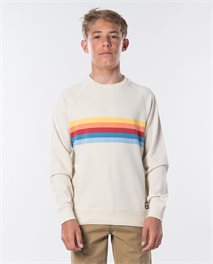 Polar Yarn Dyed Stripe Crew