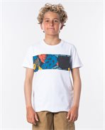 T-shirt Block Pocket Boy