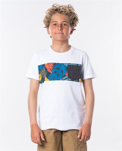 Block Pocket Ss Tee Boy