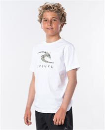 K-Fish Wave  Short Sleeve Tee Boy