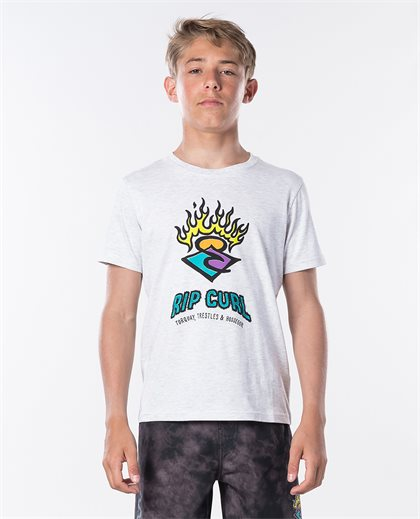 Surf Stickers Ss Tee Boy