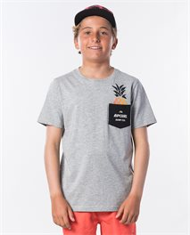 Fashion Pocket Short Sleeve Tee Boy