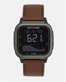 Orologio Next Tide Gunmetal Leather