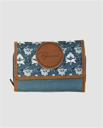 Navy Beach Wallet