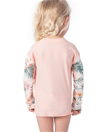 T-shirt manches longues Mini Coconut Time Zip