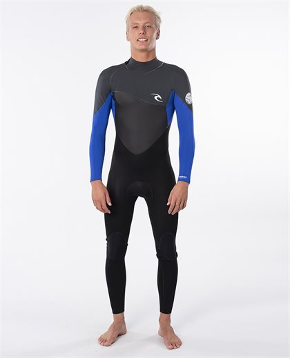Omega 3/2 Back Zip Long Sleeve Steamer