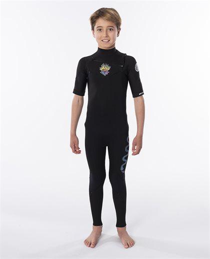 Junior Dawn Patrol 2/2 Chest Zip Wetsuit