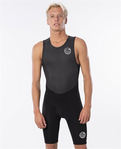 Dawn Patrol Short John Back Zip Springsuit