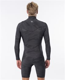 Muta primaverile Dawn Patrol 2mm Chest Zip Long Sleeve