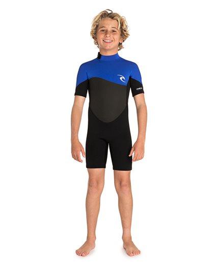 Junior Omega 1.5 Short Sleeve Springsuit