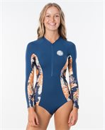 G Bomb Long Sleeve UV Lycra Surfsuit