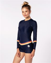 Long Sleeve Boyleg UV Lycra Surfsuit