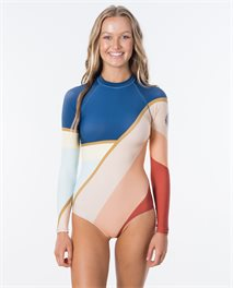 Long Sleeve UV Cheeky Lycra Surfsuit