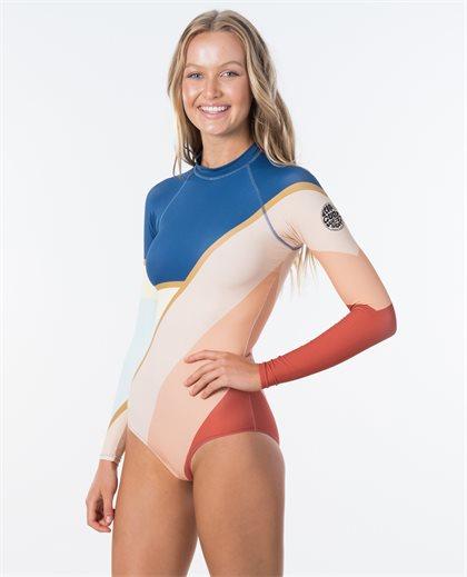Long Sleeve UV Cheeky Surfsuit