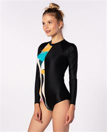 Lycra Into The Abyss Long Sleeve Surfsuit