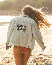 Keep On Surfin Denim Jacket
