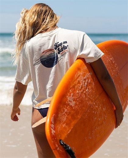 Keep On Surfin Crop Tee