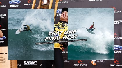 Rip Curl Presents: Mick, Kelly and 'That One Final Heat'