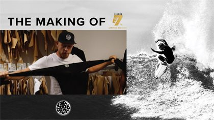 Behind The Scenes – The Making of Rip Curl's E-Bomb E7 Limited Edition suit