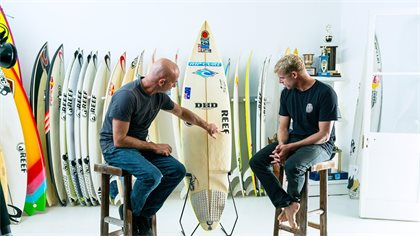 Mick Fanning And DHD Surfboards. From Then, To Now…