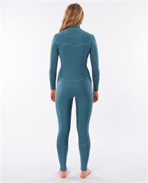 Women Dawn Patrol 3/2 Chest Zip Wetsuit