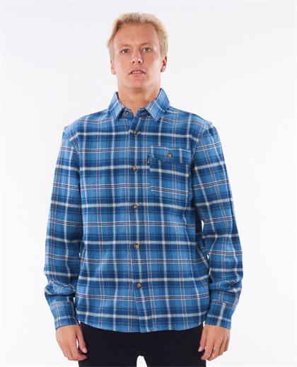 Salt Water Culture Check Long Sleeve Shirt