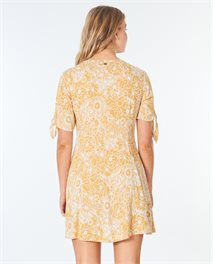 Golden Days Floral Dress