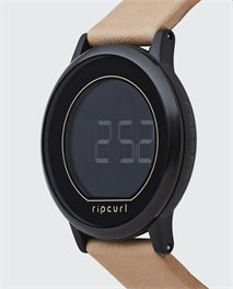 Montre Daybreak Digital Midnight Leather