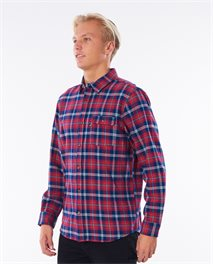Saltwater Culture Check Long Sleeve Shirt