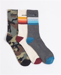 Lot de 3 paires de chaussettes Art Party