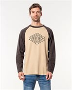 Retro Diamond Long Sleeve Tee