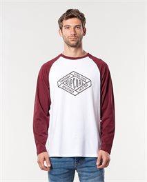 T-shirt manches longues Retro Diamond