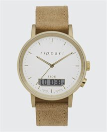 Circa Tide Digital Leather Watch