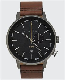 Detroit Tide Digital Leather Watch