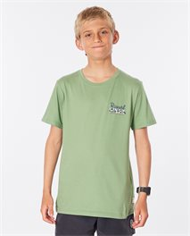 Salt Water Culture Strip Tee Boy