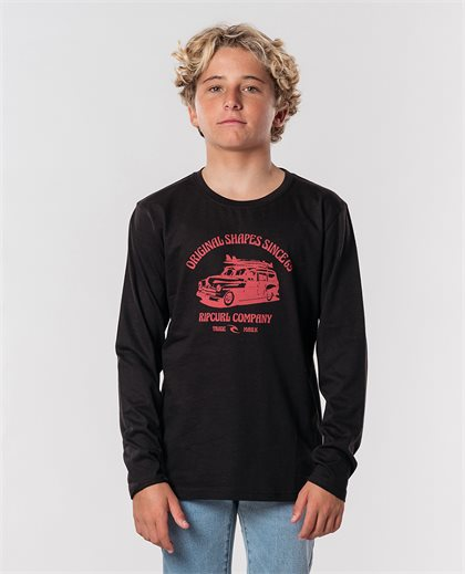 Klaxon Long Sleeve Tee Boy