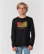 Surf Heads Script Long Sleeve Tee Boy