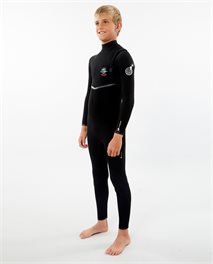 Junior Flashbomb 4/3 Zip Free Wetsuit