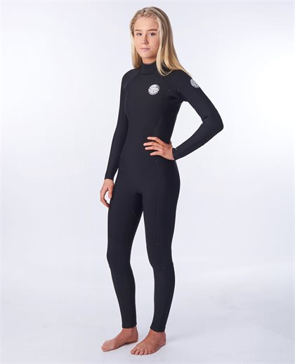 Women Dawn Patrol 3/2 Back Zip Wetsuit