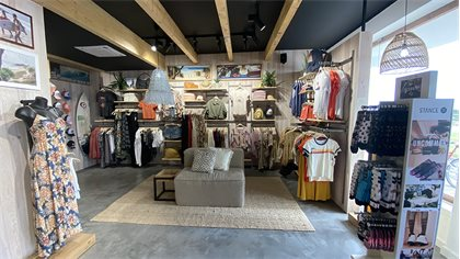 Rip Curl Europe announces the opening of a new store in Baleal (Portugal), a Rip Curl Store 100% dedicated to women